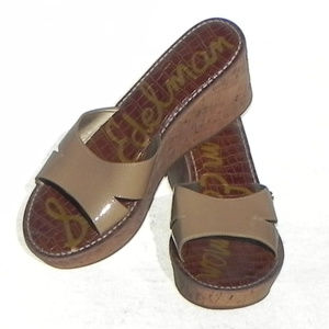 Sam Edelman Wedges, Tan, Size 10, Great Condition.
